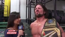 AJ Styles delivers a championship motto to remember  No Mercy 2016 Exclusive