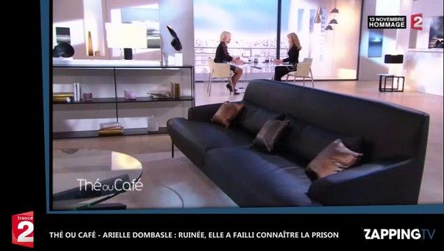Arielle Dombasle : Ruinée, elle a failli connaître la prison thé ou café –