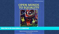 GET PDF  Open Minds to Equality: A Sourcebook of Learning Activities to Affirm Diversity and