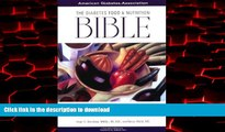 Best book  The Diabetes Food and Nutrition Bible : A Complete Guide to Planning, Shopping,