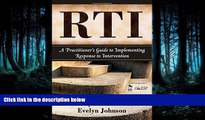 Read RTI: A Practitioner s Guide to Implementing Response to Intervention FullOnline Ebook