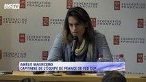 """Fed Cup - Mauresmo : """"Pour des raisons personnelles, je quitte mon poste de capitaine"""""""