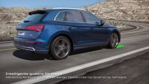 Audi Q5 - Animation quattro-Antrieb mit ultra-Technologie