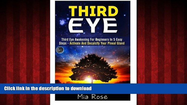 Best book  Third Eye: Third Eye Awakening For Beginners in 5 Easy Steps - Activate And Decalcify