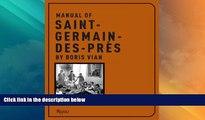 Must Have PDF  Manual of Saint Germain-des-pres by Boris Vian  Best Seller Books Best Seller