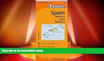 Big Deals  Michelin Spain: Balearic Islands Map 579: (Mallorca, Ibiza, Menorca) (Maps/Regional
