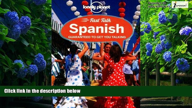 Big Deals  Lonely Planet Fast Talk Spanish (Phrasebook)  Full Ebooks Most Wanted