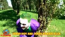 Joker Girl vs Bad Baby Joker Frozen Elsa Joker Boy Joker Messy Pie Prank Funny Superhero Video 4K