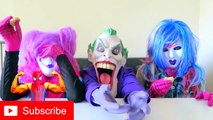 Spiderman vs Frozen Elsa vs Joker Squad Oreo Challenge Funny Superheroes