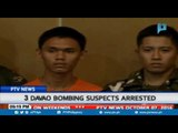 3 Davao bombing suspects arrested