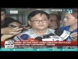 Abogado ni NBP inmate Jaybee Sebastian, nag-file sa Ombudsman ng kaso laban kay Sen. De Lima