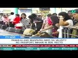 [PTVNews] Panukalang magpapalawig sa validity ng passport, inihain ni Sen. Recto [07|17|16]