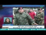 PNP-SAF, tinututukan ngayon ang 'maximum security compound' ng NBP