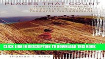 Ebook Places That Count: Traditional Cultural Properties in Cultural Resource Management (Heritage