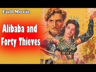 Alibaba and 40 Thieves | Full Hindi Movie | Popular Hindi Movies | Mahipal - Shakila
