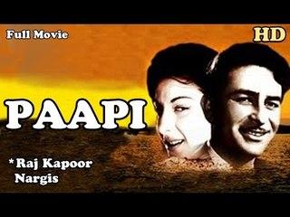 Paapi | Full Hindi Movie | Popular Hindi Movies | Nargis - Raj Kapoor