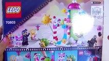 The LEGO Movie Cloud Cuckoo Palace Unikitty Emmet Wyldstyle Executron - Kids' Toys-UzuqLNBwFA8