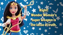 Test Your Knowledge of DC Super Hero Girls Wonder Woman   DC Super Hero Girls