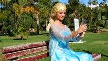 Spiderman vs Joker vs Frozen Elsa - Disney Elsa Kidnapped - Real Life Superheroe
