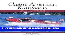 Ebook Classic American Runabouts: Wood Boats, 1915-1965 (Motorbooks Classic) Free Download