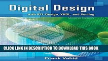 Ebook Digital Design with RTL Design, VHDL, and Verilog Free Read
