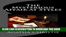 [PDF] The Mysterious Affair at Styles: Hercule Poirot s First Case (Hercule Poirot Mysteries)