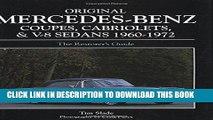 Best Seller Original Mercedes-Benz Coupes and Cabriolets and V-8 Sedans 1960-1972 (Original
