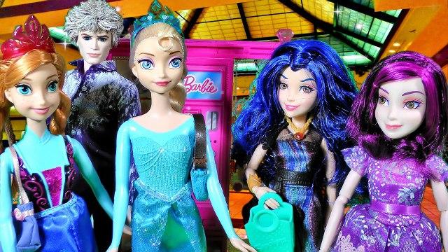 Disney Frozen Queen Elsa Anna Doll Shop Barbie Vending Machine Shopkins Season 2 & 3 Toys Jelsa Jack-BLPbLD5YrvY