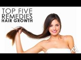 Top 5 Home Remedies For Hair Growth   Best Health and Beauty Tips   Lifestyle