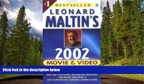 READ book  Leonard Maltin s Movie and Video Guide 2002 (Leonard Maltin s Movie Guide (Mass