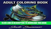 [PDF] Kickass Cats: An Adult Coloring Book with Jungle Cats, Adorable Kittens, and Stress