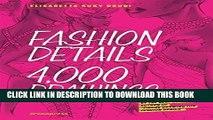 Ebook Fashion Details: 4000 Drawings Free Read