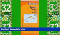 Big Sales  Michelin Spain: Balearic Islands Map 579: (Mallorca, Ibiza, Menorca) (Maps/Regional