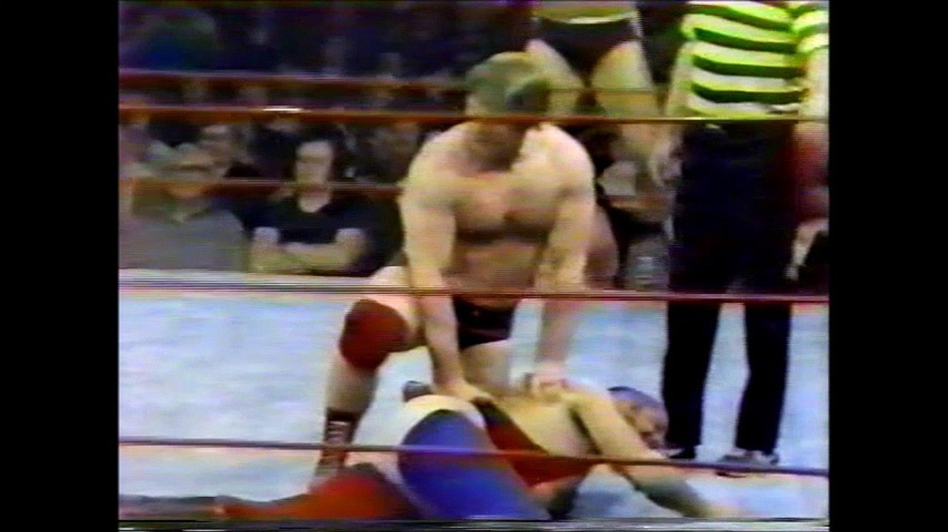 Roddy Piper/Rick Martel vs Butch Miller/Luke Williams (Portland March 8th, 1980)
