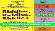 Best Seller Riddles, Riddles, Riddles (Dover Children s Activity Books) Free Read