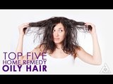 Top 5 Home Remedies for Oily Hair | Best Health and Beauty Tips | Lifestyle