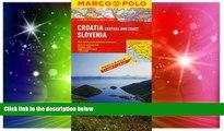 Ebook deals  Croatia/Slovenia Marco Polo Map (Marco Polo Maps)  Buy Now