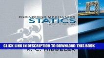 Ebook Engineering Mechanics: Statics (12th Edition) Free Read