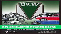 Ebook DKW: The Complete History of a World Marque Free Download