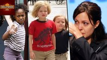 Angelina Jolie Work Hard To Keep Children Happy After Brad Pitt Split | Hollywood Asia