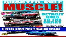 Best Seller Quarter-Mile Muscle: Detroit Goes to the Drags Free Read