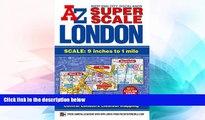 Ebook Best Deals  Super Scale London Street Atlas A-Z (London Street Atlases)  Full Ebook