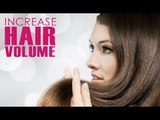 How To Increase Hair Volume   Home Remedies For Hair Volume   Simple Health Home Remedies Tips