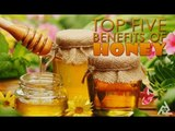Top 5 Benefits Of Honey   Simple Health and Beauty Tips   Food