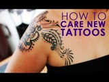 How To Care Of Your New Skin Tattoo   Remedies For Skin Care   Simple Health Home Remedies Tips