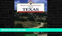 Buy NOW  Hiking and Backpacking Trails of Texas: Walking, Hiking, and Biking Trails for All Ages