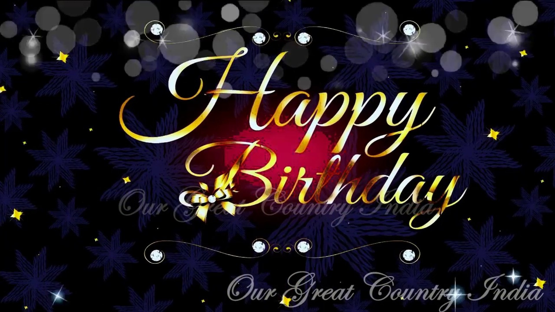 Happy Birthday to you | Download Happy Birthday Greeting Video