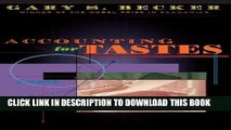 [PDF] Mobi Accounting for Tastes Full Download