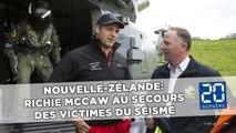 Nouvelle-Zélande: Richie McCaw au secours des victimes du séisme