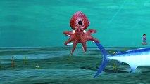 Sea Animals Whale Finger Family Children Nursery Rhyme | Dolphin Sharks Octopus Finger Family